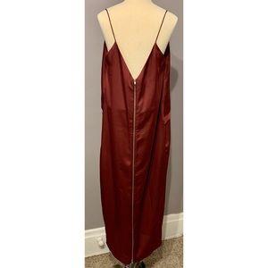 ASOS Midi Zipper Dress